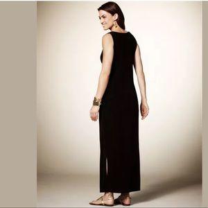 18W/20W 2X▪️TIMELESS BLACK MAXI DRESS Plus Size
